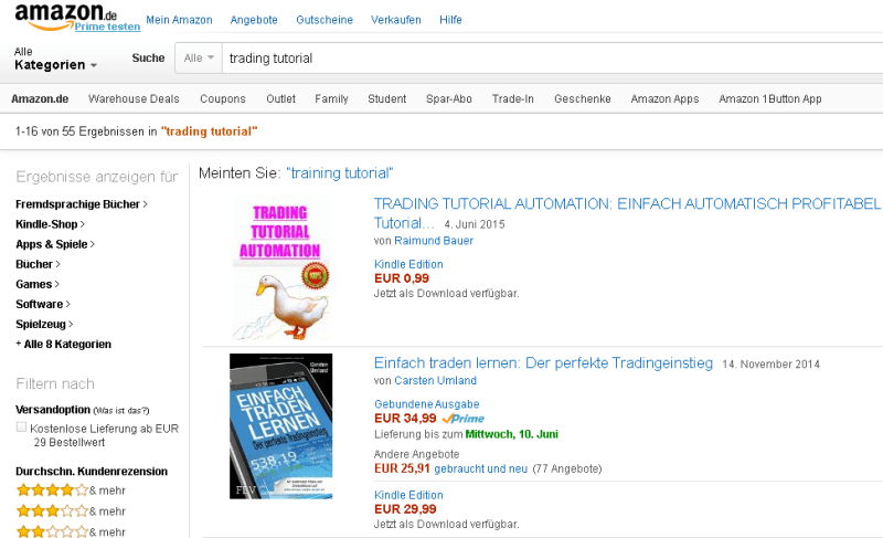 AmazonKindleBuch